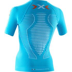 X-Bionic W's Effektor Power Running Shirt SS Turquoise/White